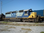 CSX SD40-2 8059